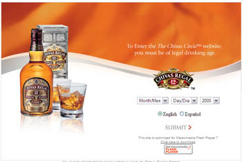 Free Chivas Regal gift labels