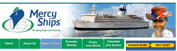 Free 2007 mercy ships Calendar with Music DVD