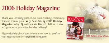 Nestle Very Best Cooking Free 2006 Holiday Magazine