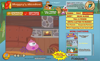 Free Muggsy's Meadows CD Rom-for kids