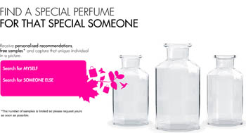 3 Free Fragrance Samples in Customized Box