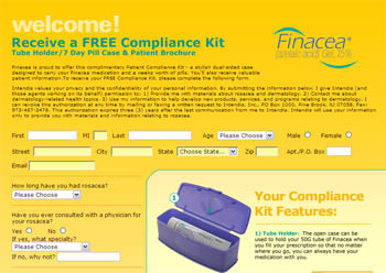 Free 7 Day Pill Case & Tube Holder from Finacea