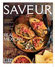 Free 7 issue subscription to Saveur Magazine