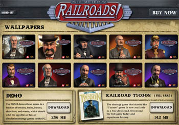 Free Sid Meier's Railroad tycoon download