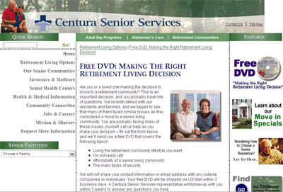 Free DVD: Making the Right Retirement Living Decision