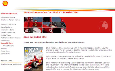 How an F1 Formula One Car Works - Booklet