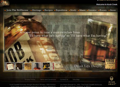 Free Personalized Labels from Knob Creek bourbon
