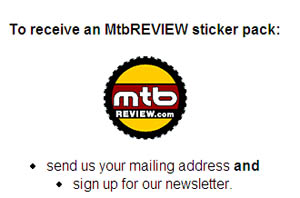 Free Mountain Bike Review Sticker Pack