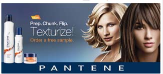 Free Sample of Pantene Texturize by Walmart