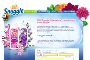 Free snuggle exhilarations sample