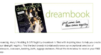 Free Wedding Dream Book From The Wedding Channel