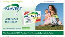 Free Alavert Sample from WalMart