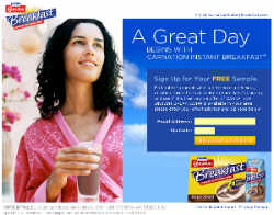 Free Carnation Instant Breakfast Sample