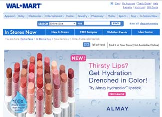 Free Almay hydracolor lipstick