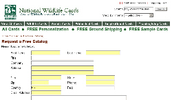 Free National Wildlife Cards