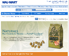Free 6oz. Sample of Purina Naturals Cat Food from Walmart