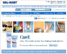 Free Curél® Targeted TherapyTM Sample from Walmart