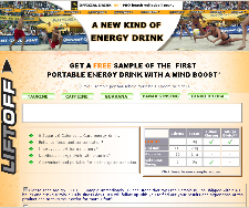 Free Lift Off Energy Drink