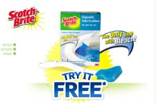 Free Scotch-Brite Disposable Toilet Scrubber Print Coupon & Rebate