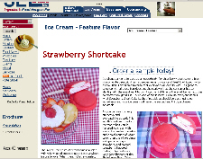 Free Sample of Strawberry Shortcake