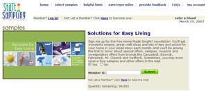 Free Solutions for Easy Living $30 Coupon Booklet