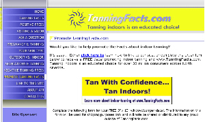 Free Tan Indoors Sticker