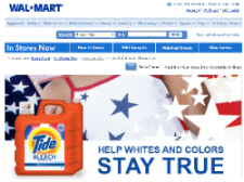 Free Tide Detergent Sample from Walmart