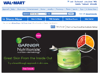 Free sample of Garnier Nutritioniste by Walmart