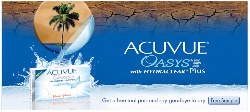 Free Trial Pair of ACUVUE® OASYS™ Brand Contact Lenses
