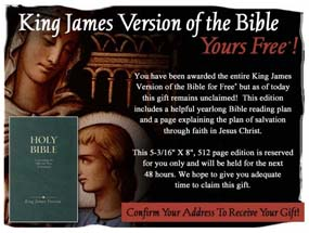 Free King James Bible and Prayer Guide