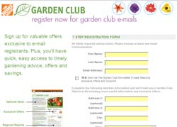 Free Home Depot ~ Garden Club Welcome Kit