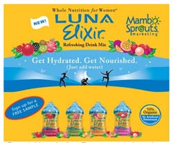 Free Luna Elixir Women's Nutritional Drink from Mambo Sprouts