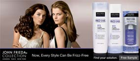 Free John Frieda Frizz Ease Collections Sample