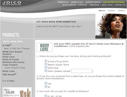 Free Joico's Body Luxe Shampoo & Conditioner Samples