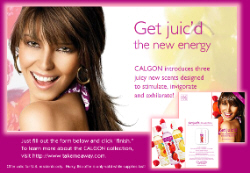 Free Sample of Calgon Get Juic'd Scent