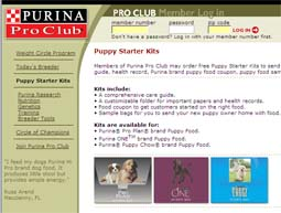 Free Puppy Starter Kits From Purina Pro Club