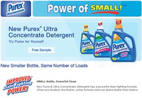 Purex® Ultra Concentrate detergent from Walmart