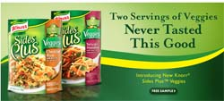 Free Sides Plus Veggies Sample from Walmart