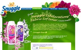 Free Snuggle® Exhilarations™ fabric softener