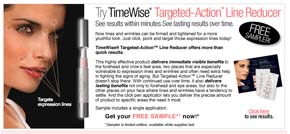 Free Mary Kay Timewise Target-Action Line Reducer sample