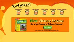Free Airborne Seasonal Non-Drowsy Formula Sample