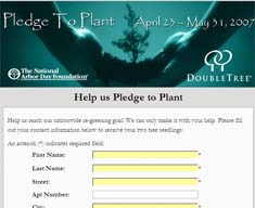 Two Free Seedling Trees from DoubleTree - First 10000