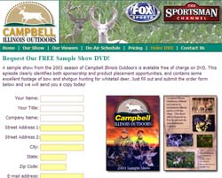 Free Outdoor Hunting DVD
