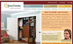 Free Easy closets sample request and information kit