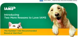 Free Iams Healthy Naturals for Dogs sample