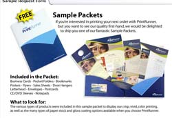 Free Print Runner Sample Packet