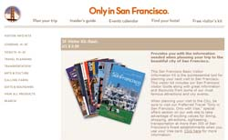 Free San Francisco Visitor's Kit