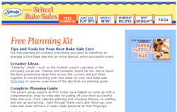 Free Splenda School Bake Sale Planning Kit
