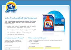Free Tide Coldwater Sample