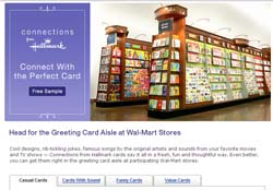 "Free ""Connections� by Hallmark Greeting Card"